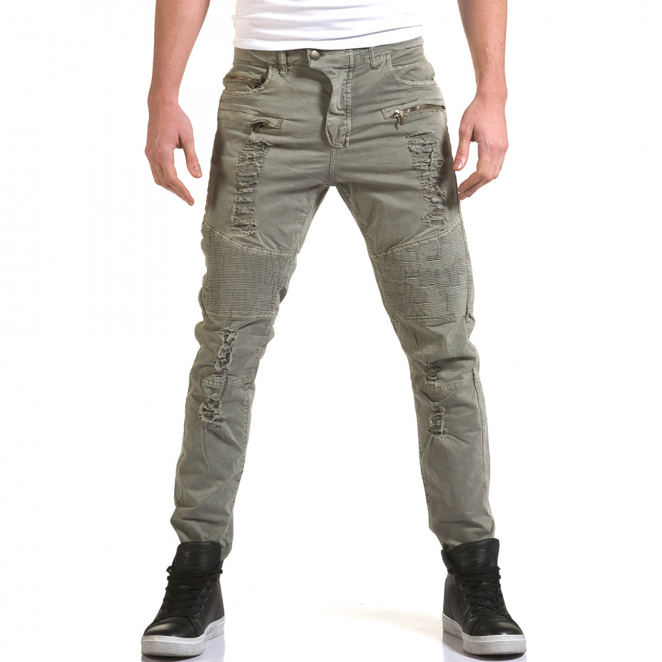Pantaloni bărbați Maximal gri it090216-8
