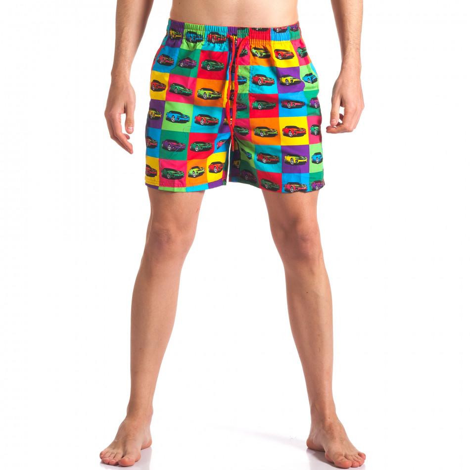 Costume de baie bărbați Y Chromosome curcubeu it260416-42