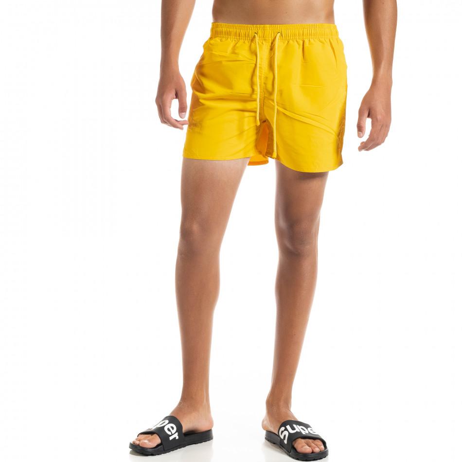Costume de baie bărbați Basic galben it010720-40