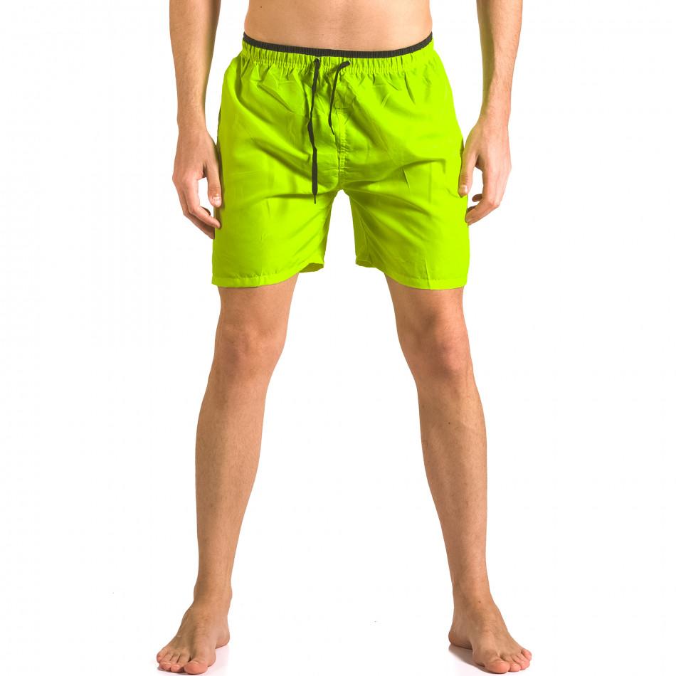 Costume de baie bărbați Yaliishi verde ca050416-25