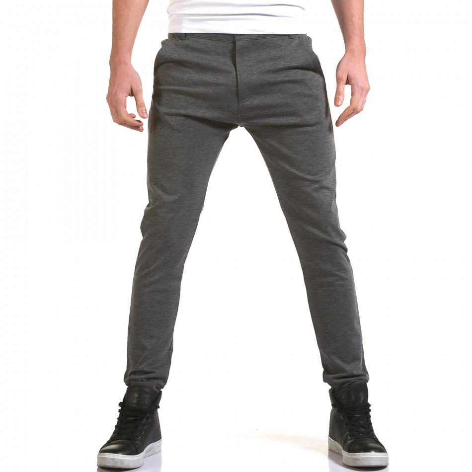 Pantaloni bărbați Jack Berry gri it090216-28