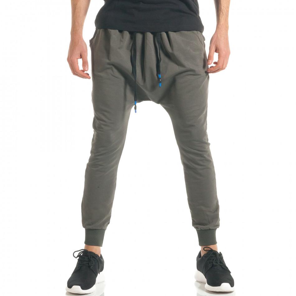 Pantaloni baggy bărbați Black Fox verzi it300317-25