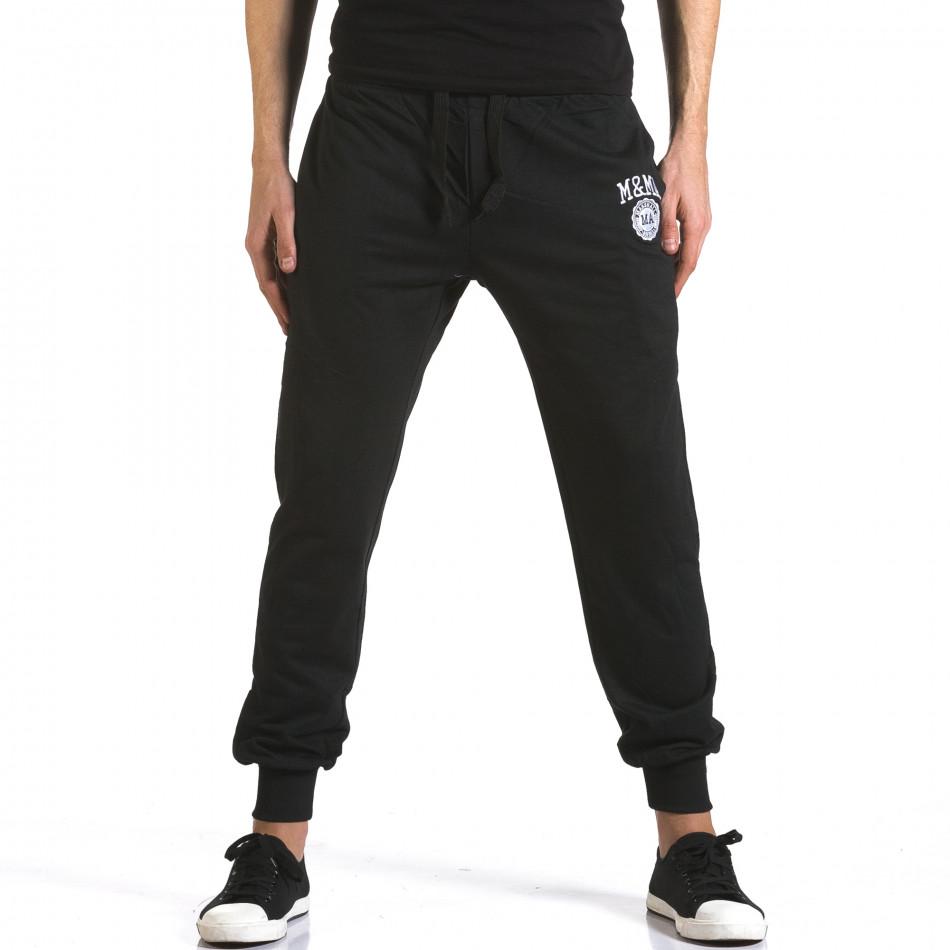 Pantaloni bărbați Marshall negru it110316-17