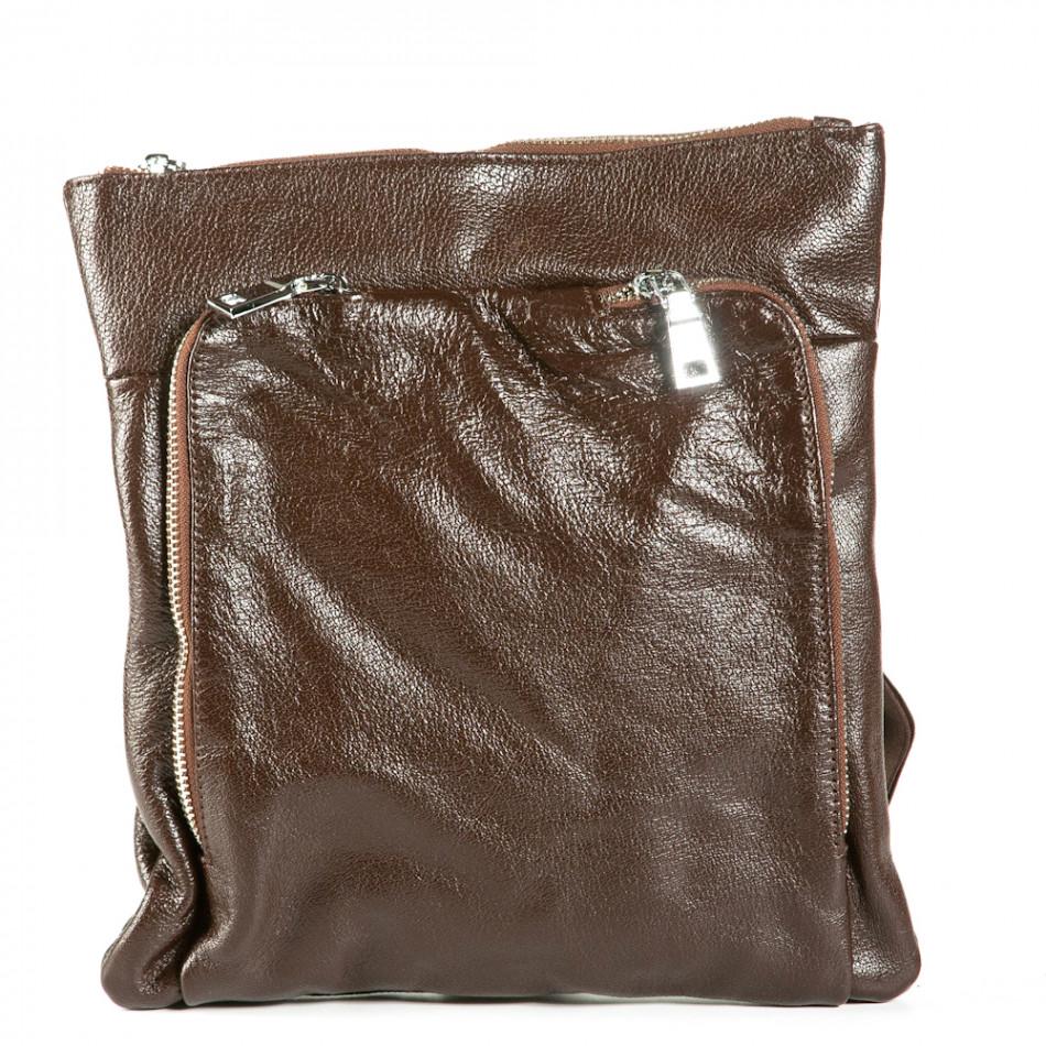 Geanta de umar Fashionmix maro bărbați 1236-brown