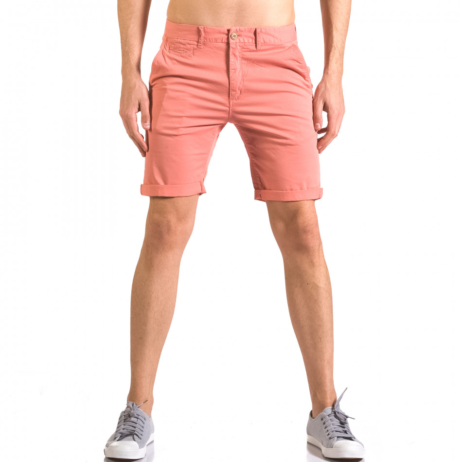 Pantaloni scurți bărbați XZX-Star roșii ca050416-60