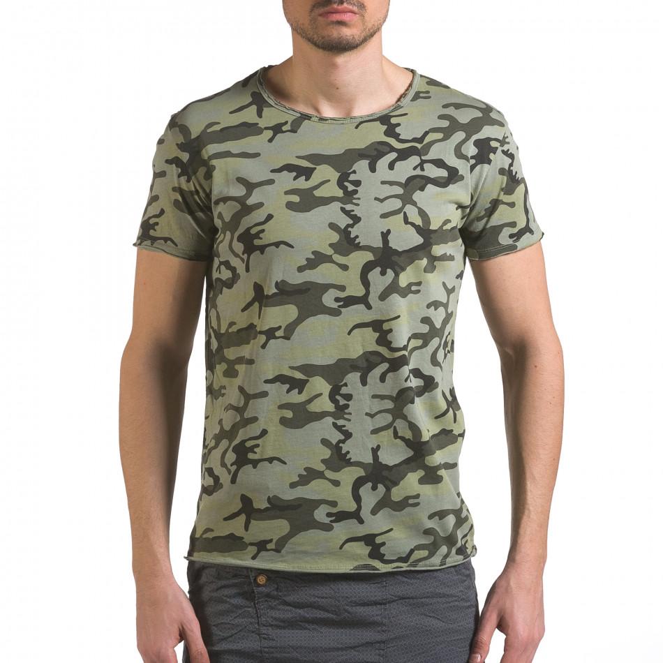 Tricou bărbați Wilfed camuflaj it110316-94