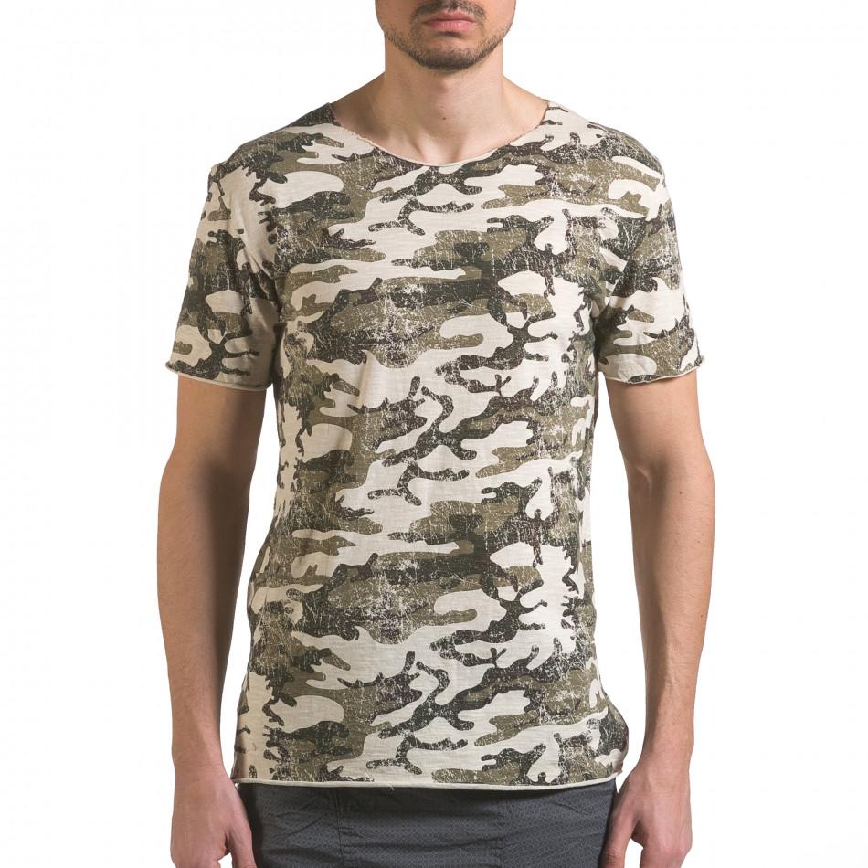 Tricou bărbați Wilfed camuflaj it110316-92