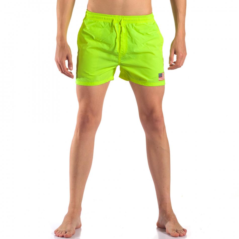 Costume de baie bărbați New Mentality verde it150616-26