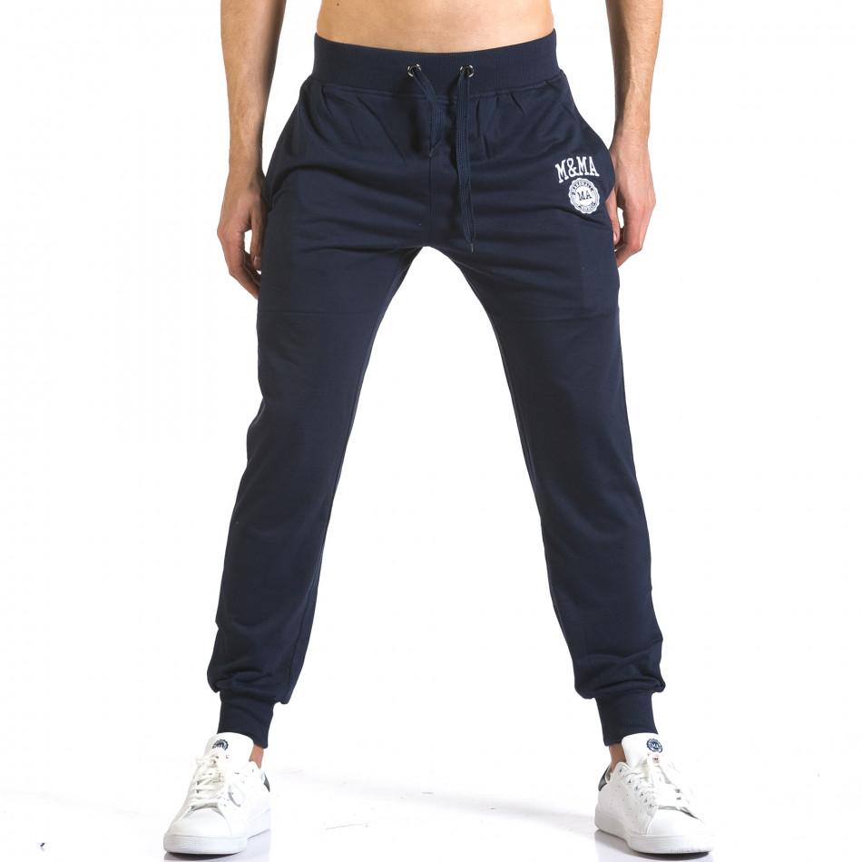 Pantaloni bărbați Marshall albastru it110316-18