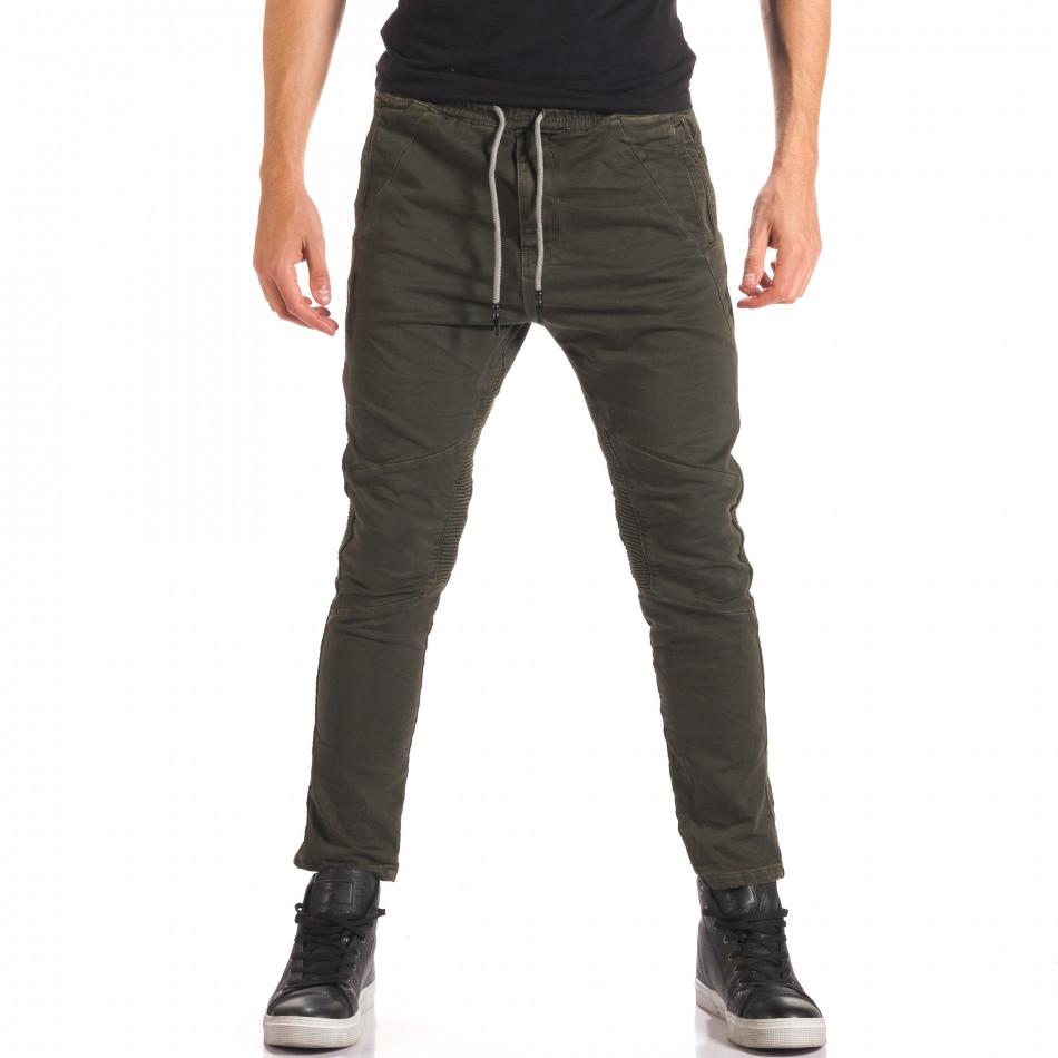 Pantaloni bărbați Y-Two verzi it150816-10