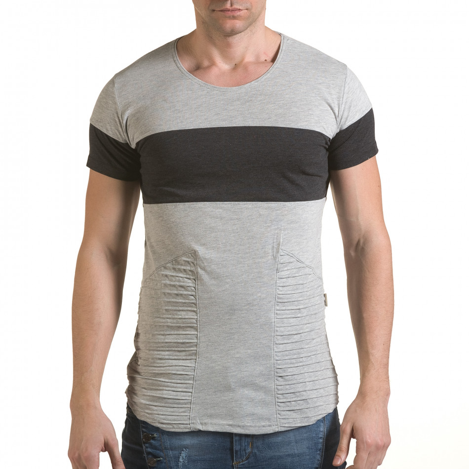 Tricou bărbați Click Bomb gri il170216-73