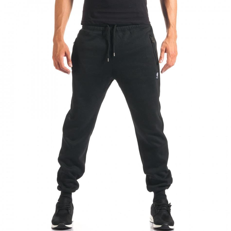 Pantaloni bărbați Marshall negru it160816-11