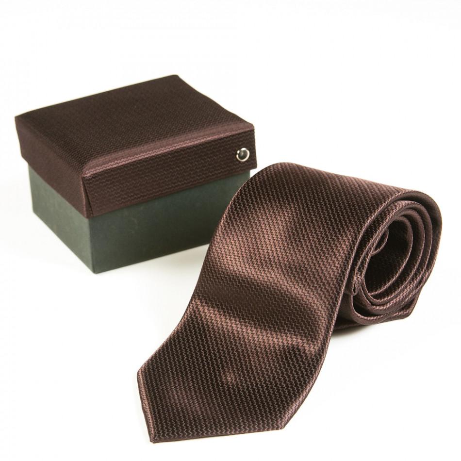 Cravată Fashionmix maro bărbați 080213-19