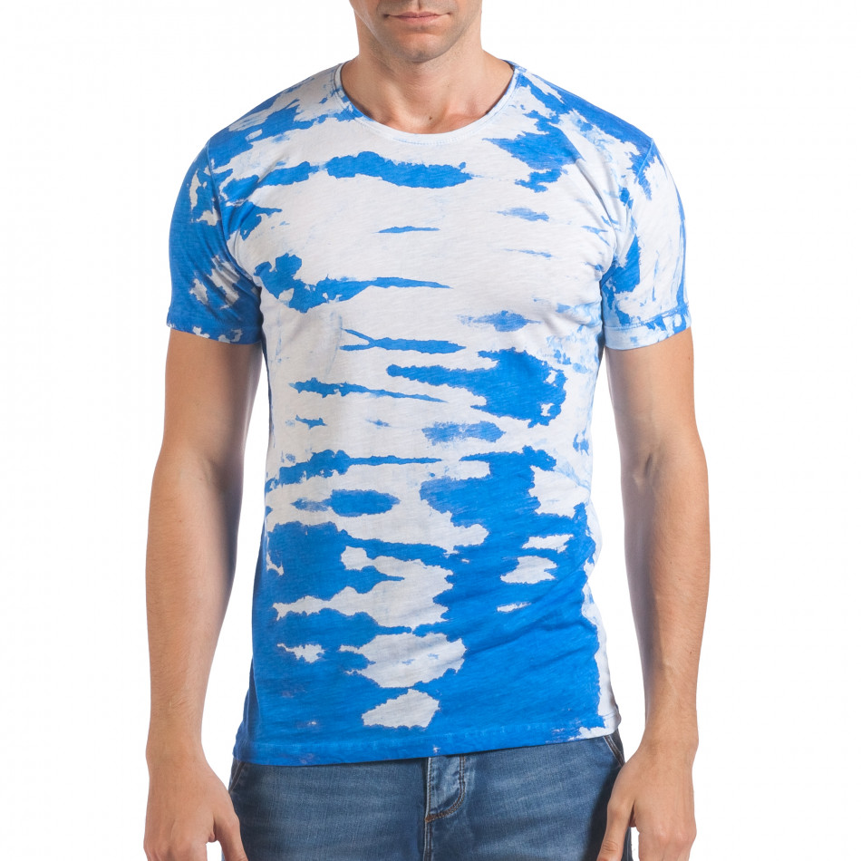 Tricou bărbați Lagos alb il060616-51