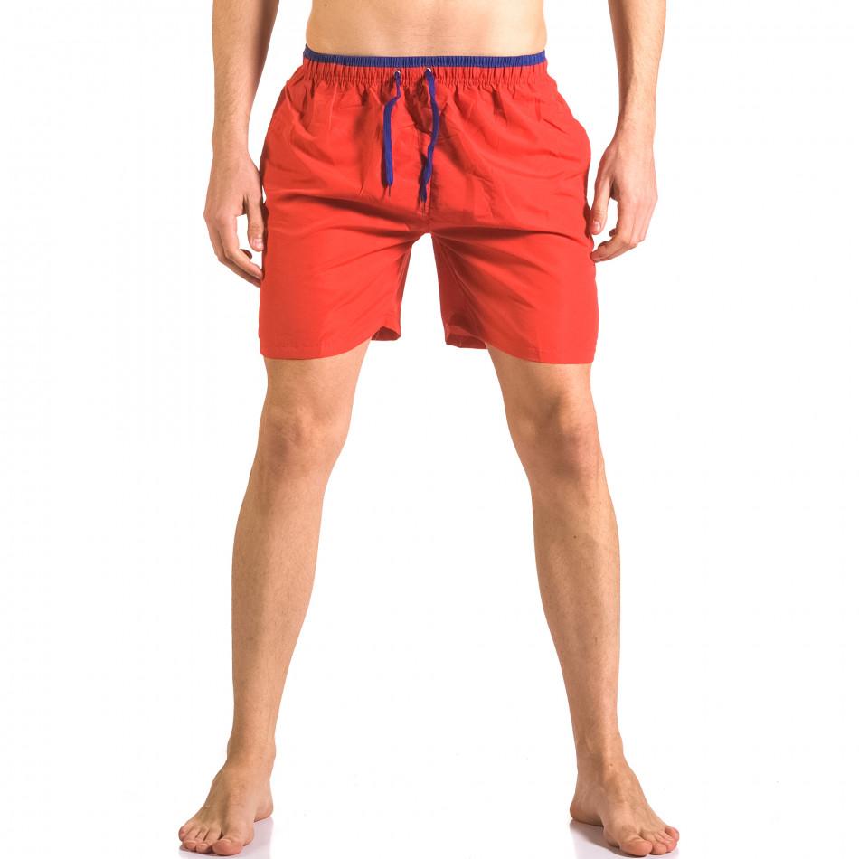 Costume de baie bărbați Yaliishi roșu ca050416-27