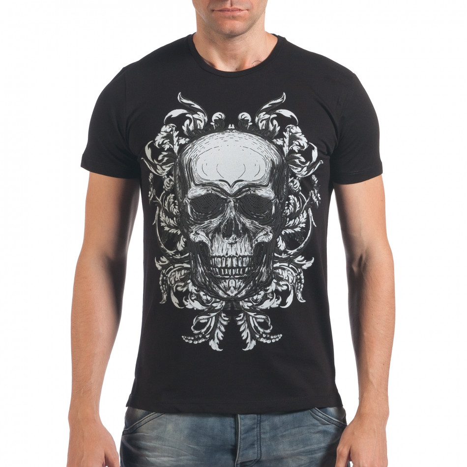 Tricou bărbați SAW negru il060616-33
