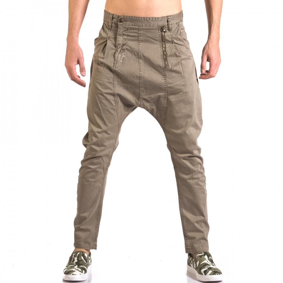 Pantaloni bărbați X-Feel gri ca050416-54