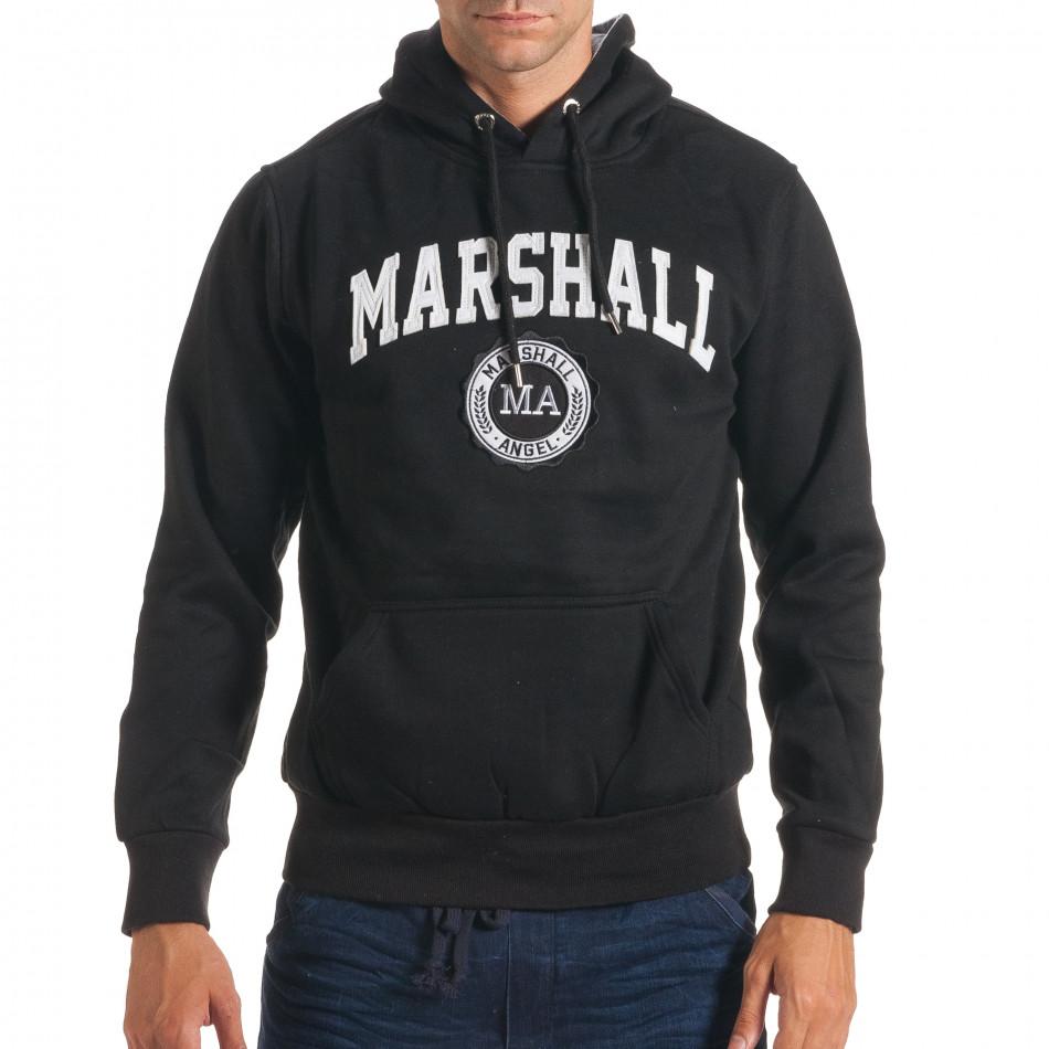 Hanorac bărbați Marshall negru it240816-33