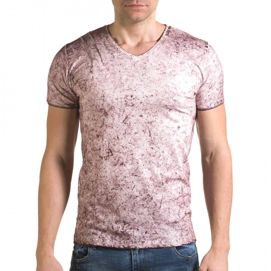 Tricou bărbați Lagos roz il120216-18