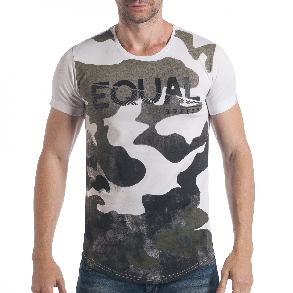 Tricou bărbați Breezy camuflaj tsf090617-24