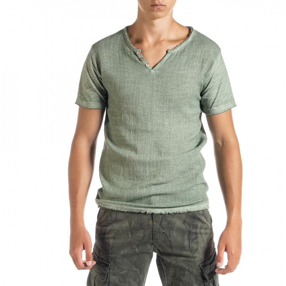Tricou bărbați Duca Homme verde it010720-26