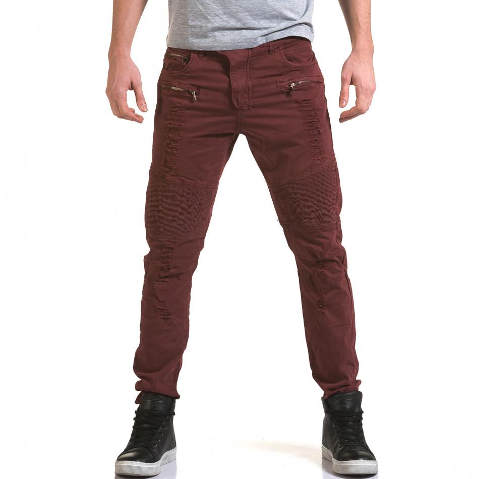 Pantaloni bărbați Maximal roșii it090216-9