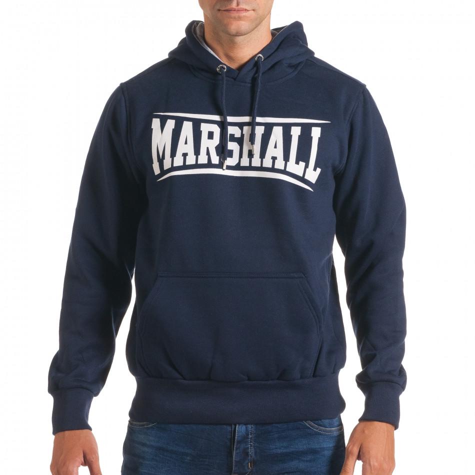 Hanorac bărbați Marshall albastru it240816-9