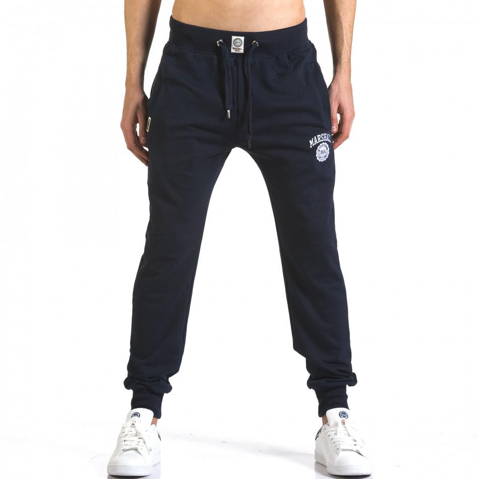 Pantaloni bărbați Marshall albastru it110316-13