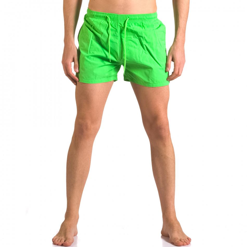 Costume de baie bărbați Bitti Jeans verde ca050416-4