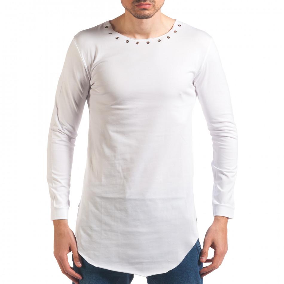 Bluză bărbați Black Fox albă it250416-79