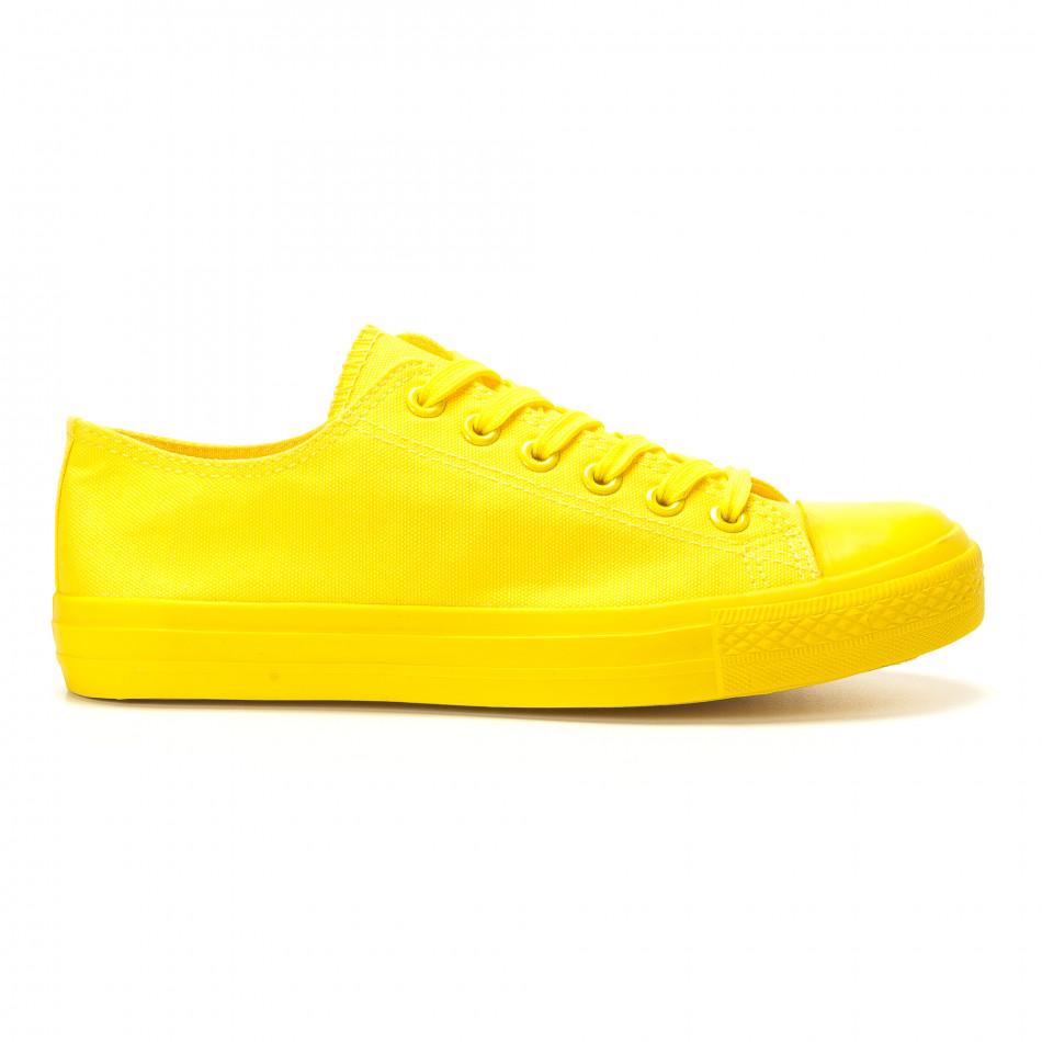 Teniși galbeni pentru bărbați it260117-39