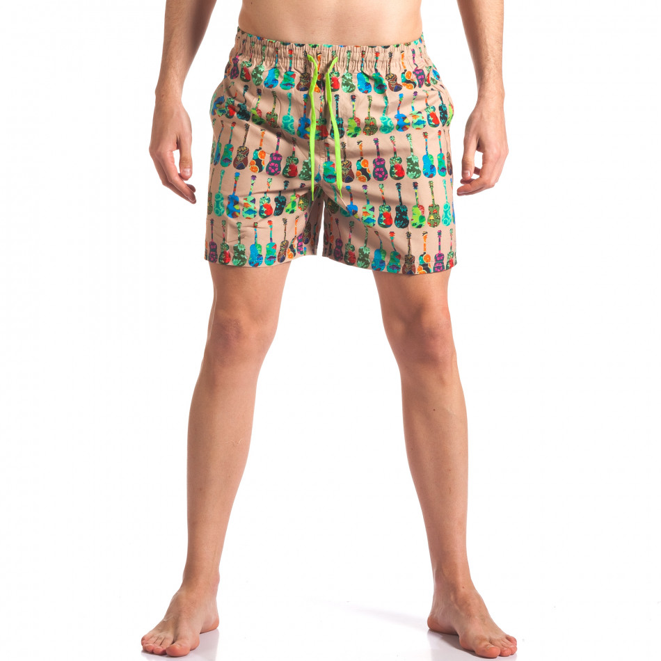 Costume de baie bărbați Y Chromosome bej it260416-45