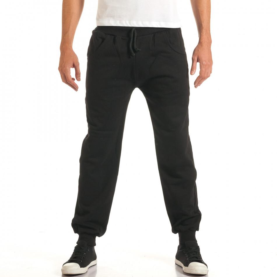 Pantaloni bărbați RHUM22 negru it191016-33