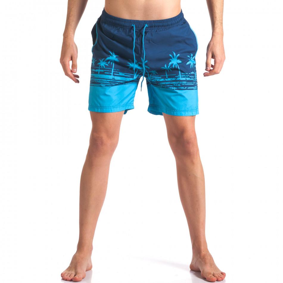 Costume de baie bărbați Austar Jeans albastru it250416-41