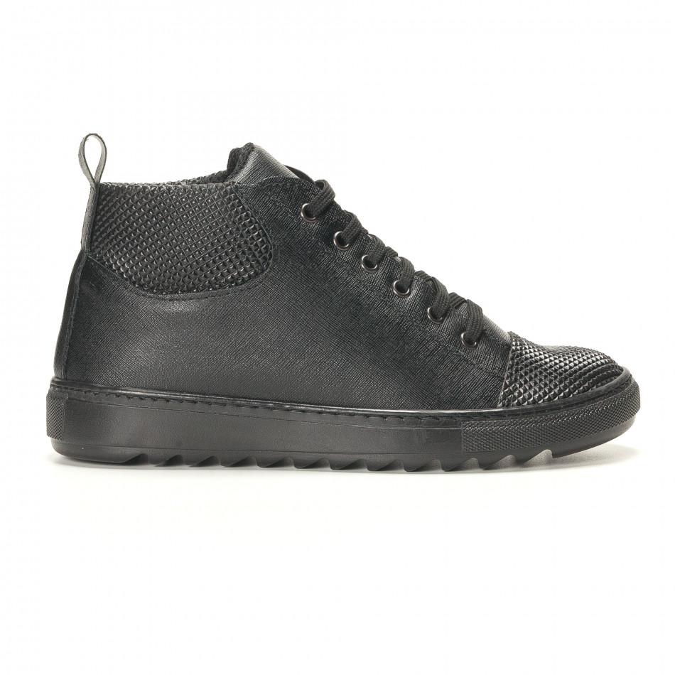 Teniși bărbați Shoes in Progress negri it141016-2