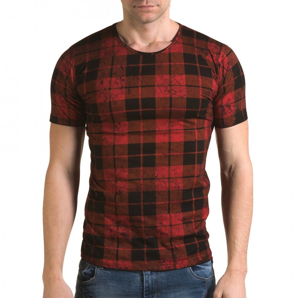 Tricou bărbați Lagos roșu il120216-49