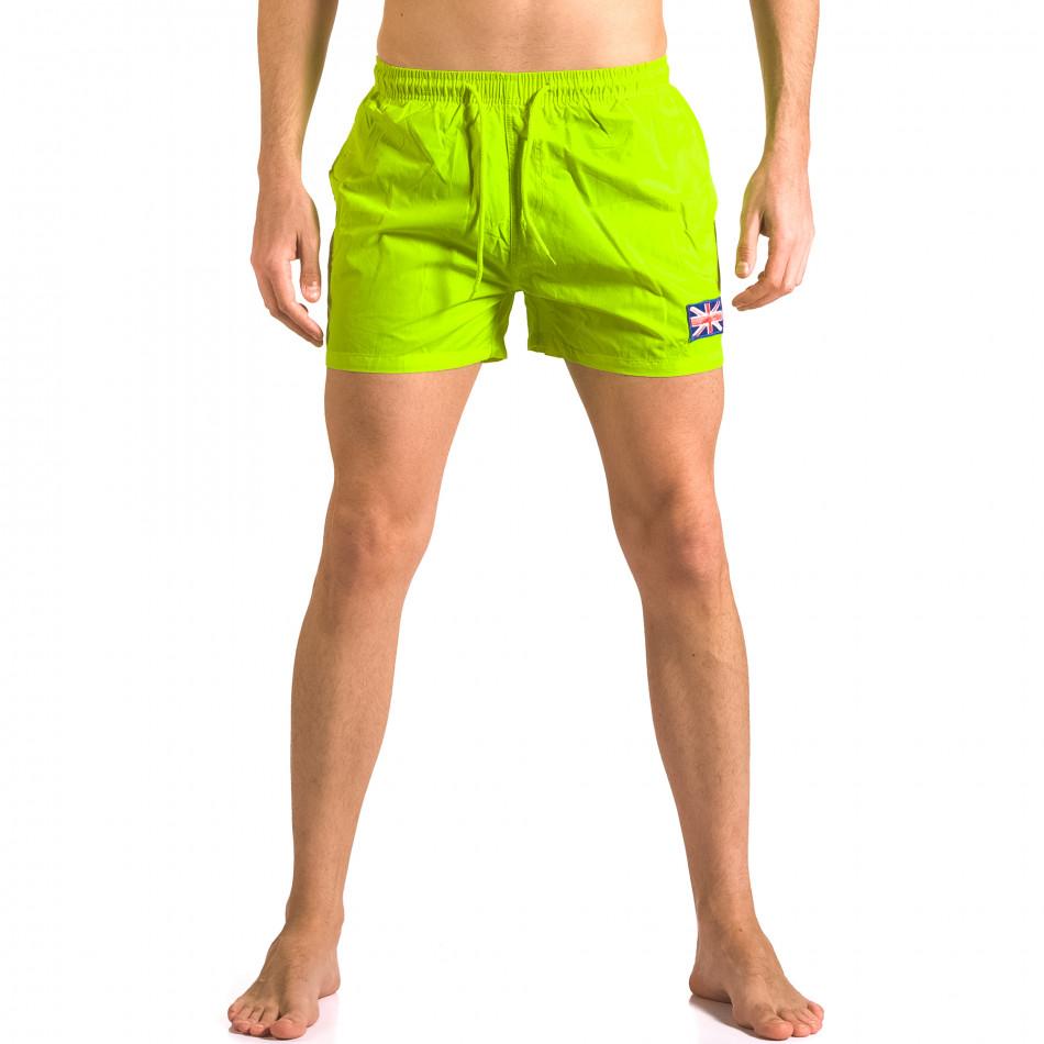 Costume de baie bărbați Bitti Jeans verde ca050416-9