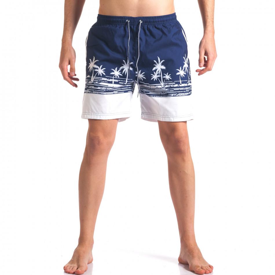 Costume de baie bărbați Austar Jeans albastru it250416-42