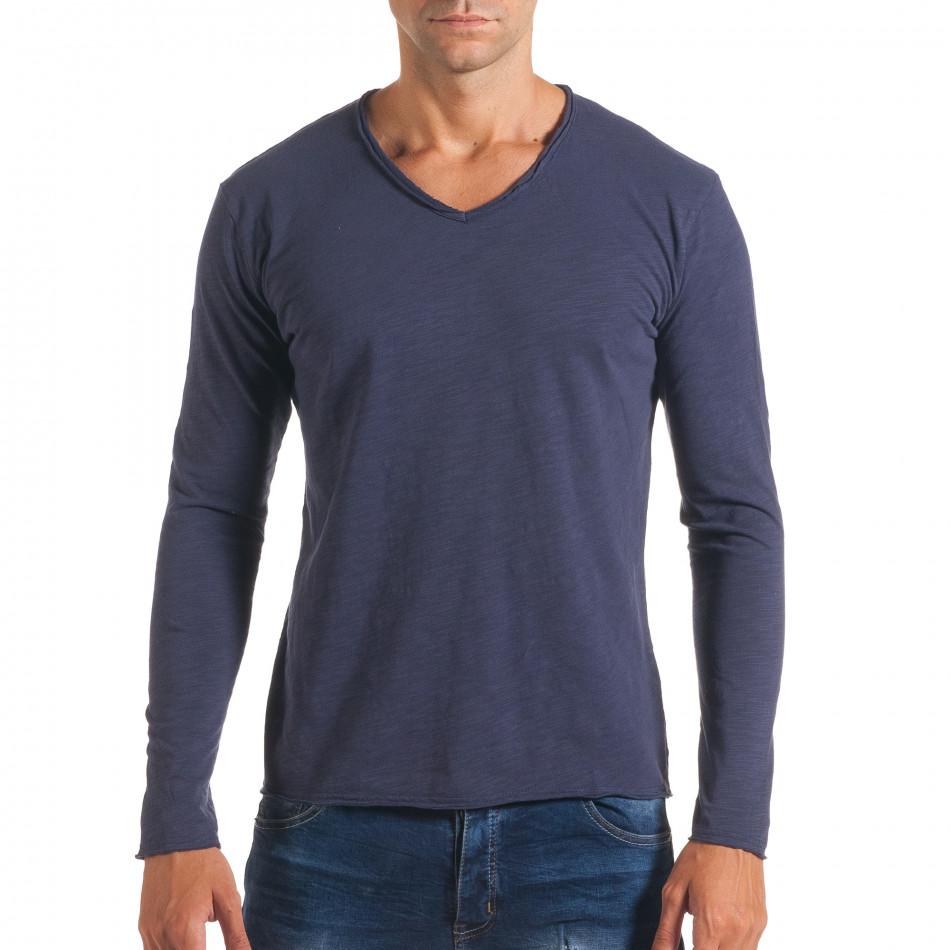 Bluză bărbați Y-Two albastră it180816-4