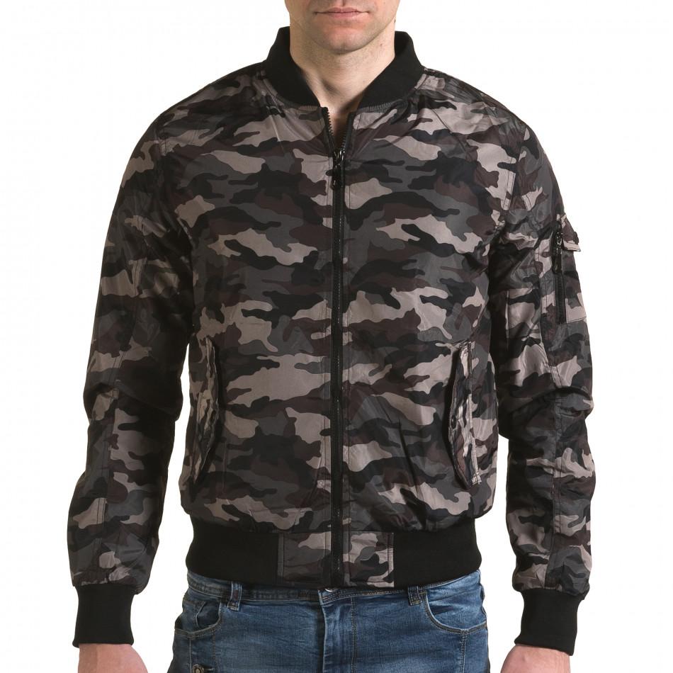Jachetă de primăvară-toamnă Baci & Dolce verde bărbați it230216-1
