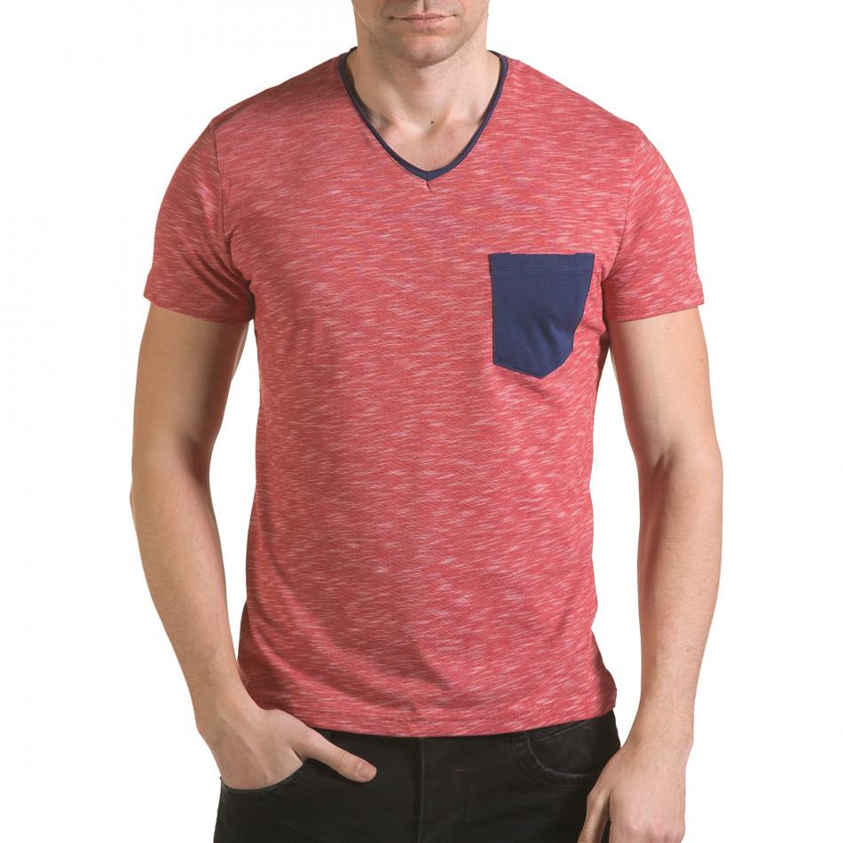 Tricou bărbați Franklin roșu il170216-15
