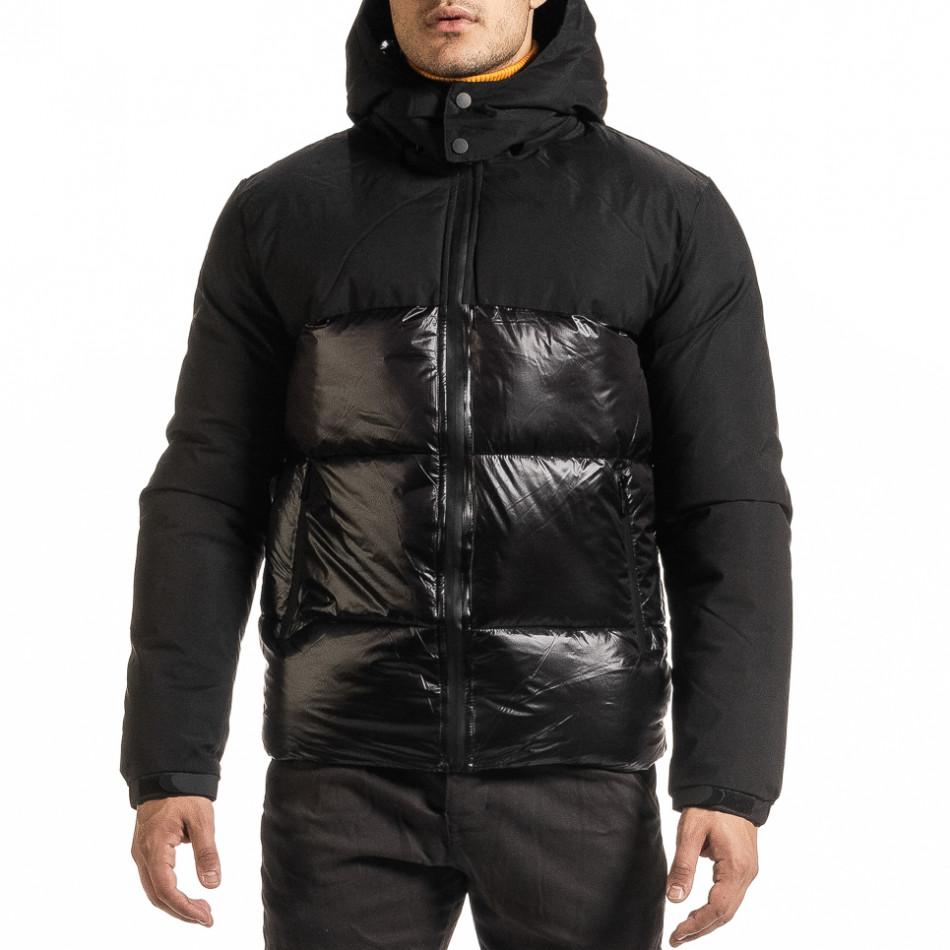 Geacă de iarnă bărbați Duca Homme neagră it301020-8