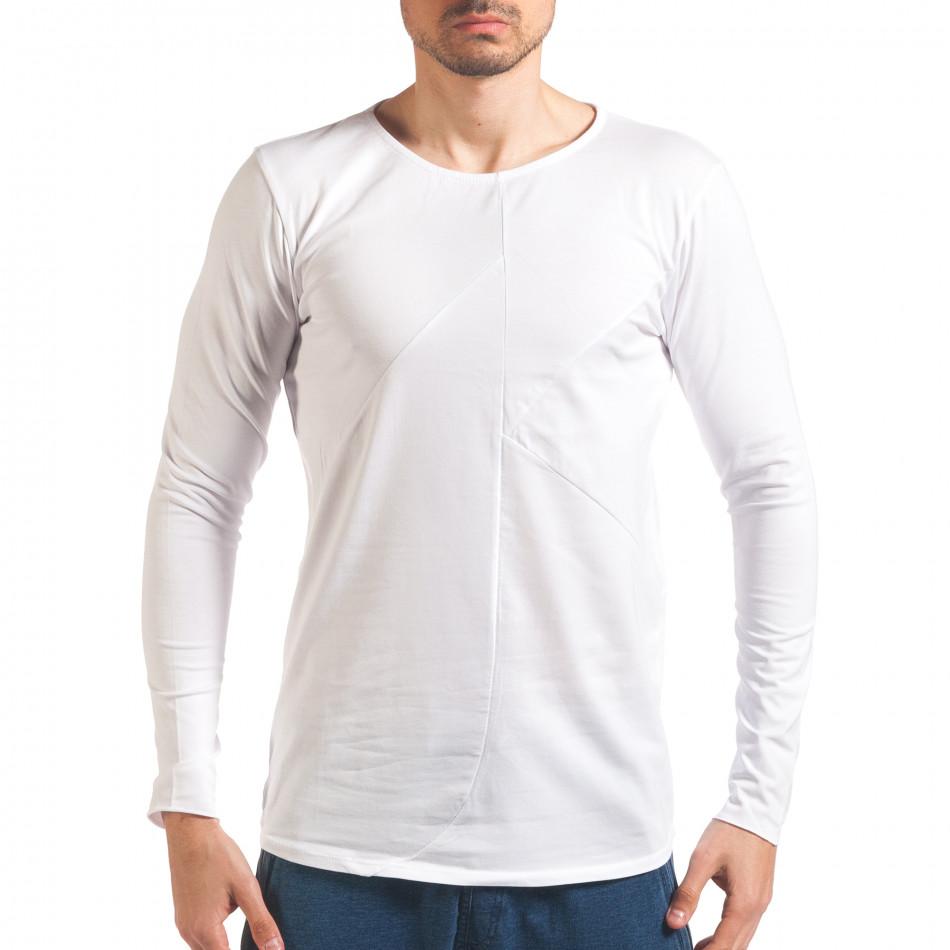 Bluză bărbați Black Fox albă it250416-75