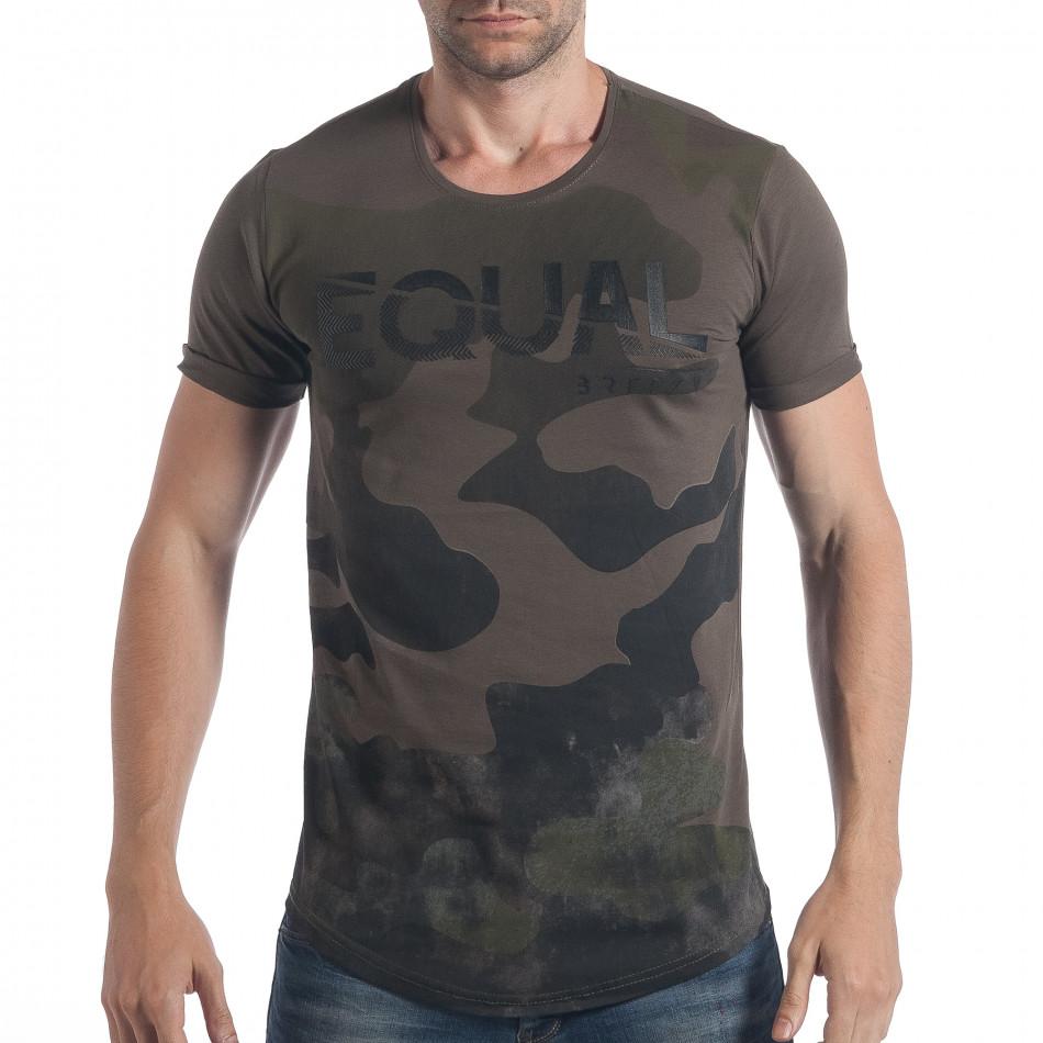 Tricou bărbați Breezy camuflaj tsf090617-25