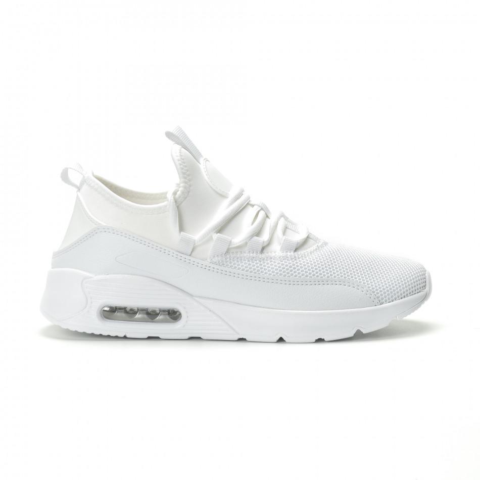 Adidași albi Air de bărbați model ușor it250119-28