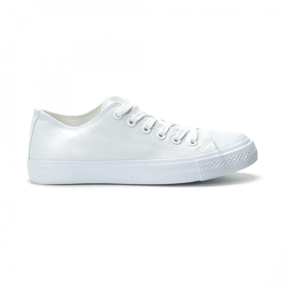 Teniși albi model Basic pentru bărbați it250119-11