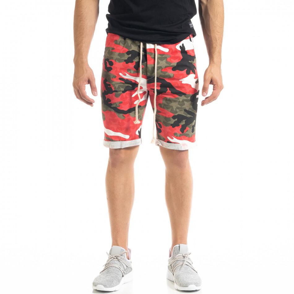 Pantaloni scurți bărbați Alpini Firenze camuflaj it050620-13