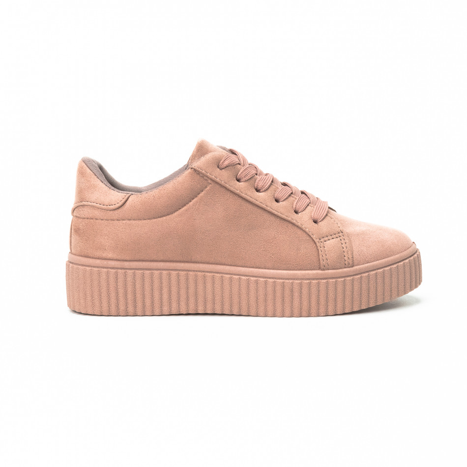 Teniși Basic în roz pentru dama  it150818-39