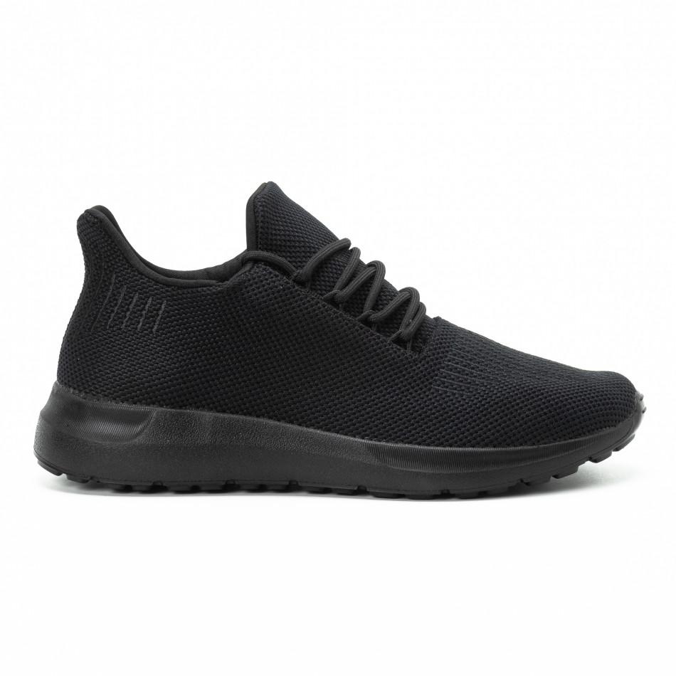 Adidași All black pentru bărbați model ușor it140918-16