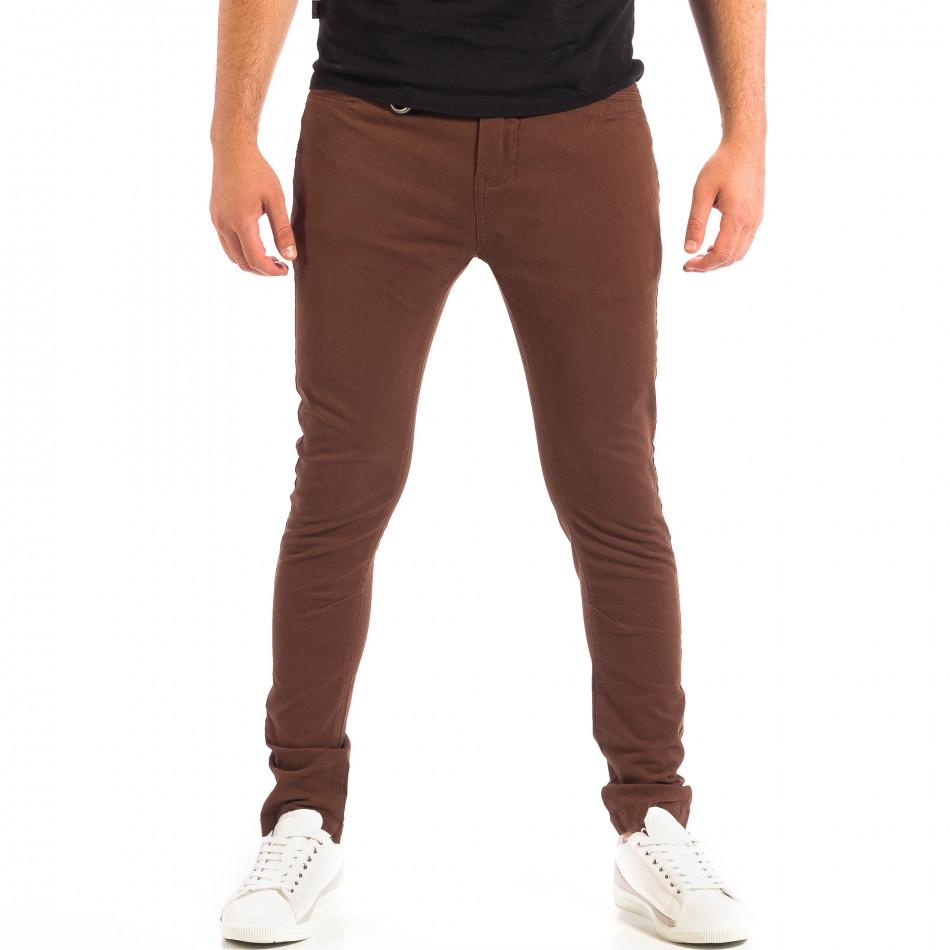 Pantaloni bărbați House maro lp060818-96
